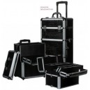 TROLLEY BEAUTY CASE NERO
